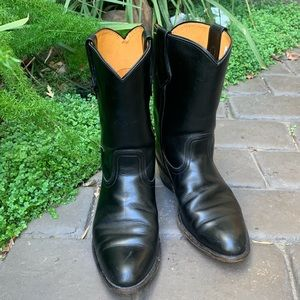 MEN'S Frye Boots Made in USA Leather Size 9 1/2 D